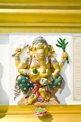 ganesh,Thai Temple,Saman Rattana Ram Temple,Thailand