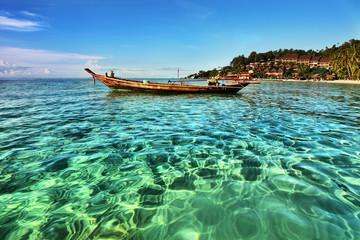 Beautiful tropical beach in Koh Phangan, Thailand
