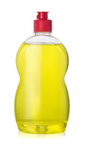 Full bottle  of yellow dishwashing liquid