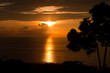 Sunset over Keauhou Bay