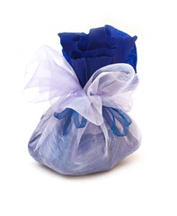 Gift pouch isolated