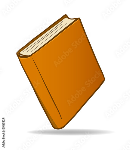 Brown cartoon book