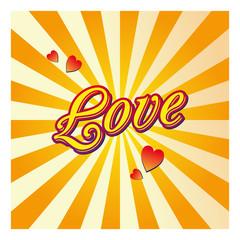 Saint-Valentin soleil amour cœur fête love bonheur couple