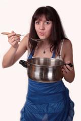 пробуем суп