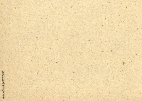Beige recycled paper