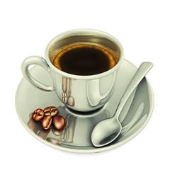 Tazzina caffè scontornata