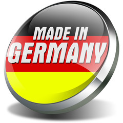 3d made in germany button