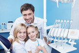 Families in the dental office