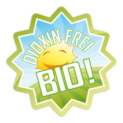 Bio Sticker - dioxin frei