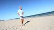 Fun Exercise on the Beach