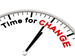 Time for Change on a Clock