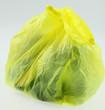 sac poubelle plastique jaune