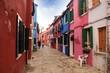 Burano, Venecia: plazas y calles