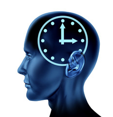 time schedule memory loss appointment late human brain