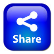 SHARE Button (social network internet web p2p more symbol sign)