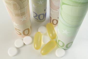 Arznei und Preis