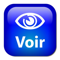 """Bouton """"VOIR"""" (actualités informations en direct médias vidéo)"""