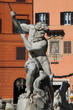 Piazza Navona in Rome, Italy - Fountain of the Neptune