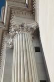 Capital of Ancient Corinthian Column poster