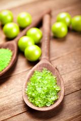 Aromatherapy - green bath salt