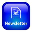 NEWSLETTER Button (customer service help information marketing)