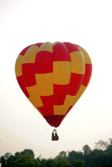 This balloon in Pattaya International Balloon Festival 2011