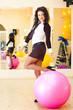 businesswoman fitness