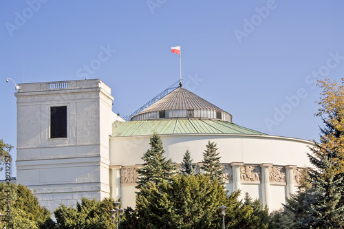 Polski parlament.