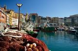 Dans le port de San Sebastian