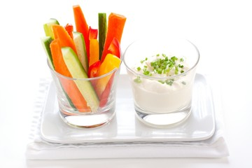 Healthy Vegetable Snack