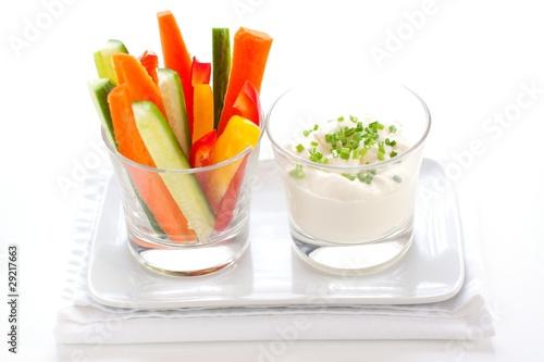 Healthy Vegetable Snack