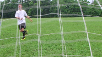 Soccer Goal Kick
