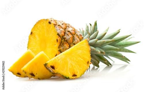 Leinwanddruck Bild pineapple