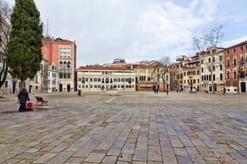 Il ghetto ebraico antico di venezia