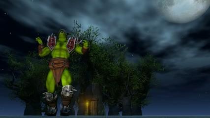 Erschreckender Orc