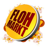 Flohmarkt! Button