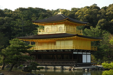 Kinkakuji Temple / The Golden Pavilion,  Kyoto, Japan
