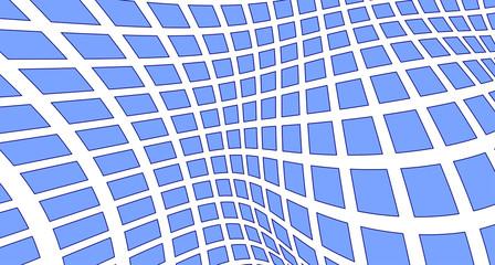 Light blue grid 3D texture. Vector
