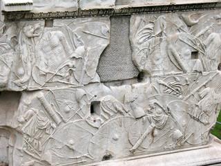 Base della Colonna Traiana - Roma