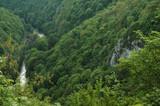Deep valley. Vadu Crisului gorge, Transylvania, Romania poster