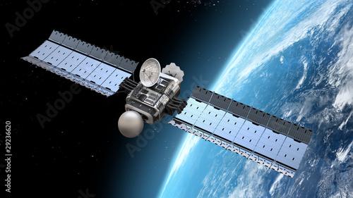 nowoczesny satelita