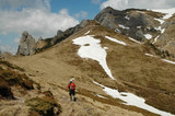 Trekking in Ciucas mountains, Romania