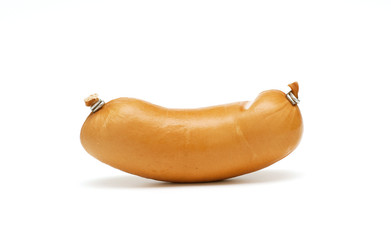 sausage on white