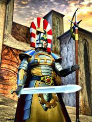 fantasy knight warrior