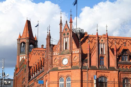Zdjęcia na płótnie, fototapety na wymiar, obrazy na ścianę : Poland - old post office in Bydgoszcz