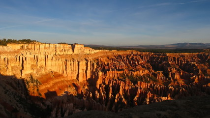 Time lapse sunrise over Bryce Canyon National Park