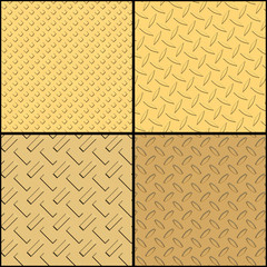 Gold textures collection
