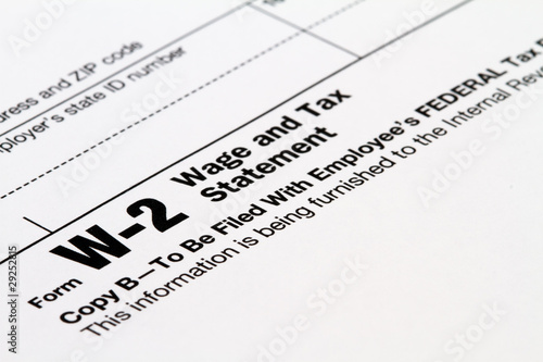 tax statement W-2