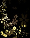 Fototapety 金色の花びら