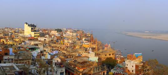 Panorama of Varanasi
